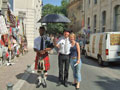 Bagpiper of Berlin in Avignon